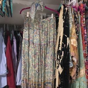 Spell opal oasis skirt & scarf M